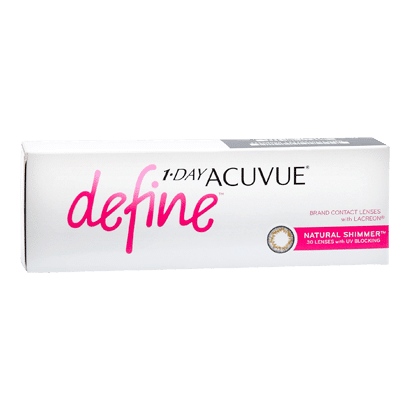 1-day Acuvue Define Shimmer